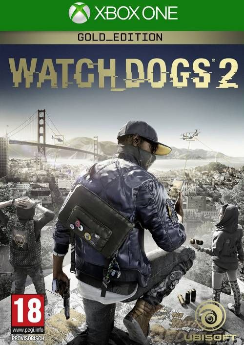 Watch Dogs 2 - Gold Edition Xbox One (UK)