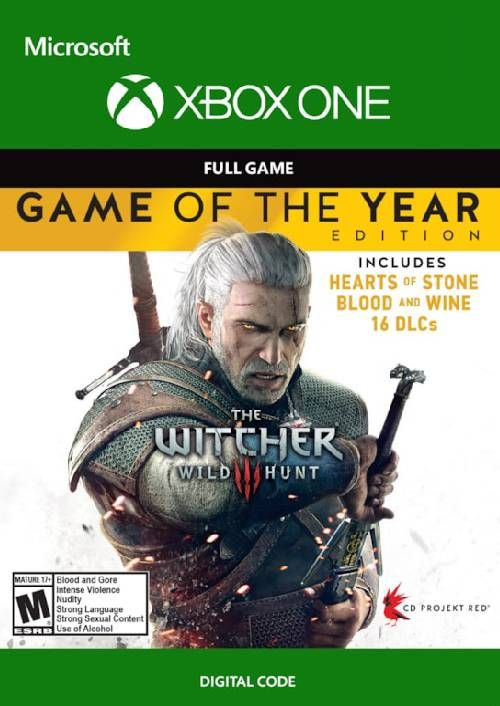The Witcher 3 Wild Hunt - Game of the Year Edition Xbox One (UK)