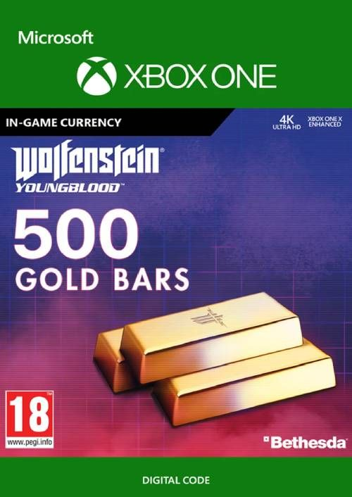 Wolfenstein: Youngblood - 500 Gold Bars Xbox One