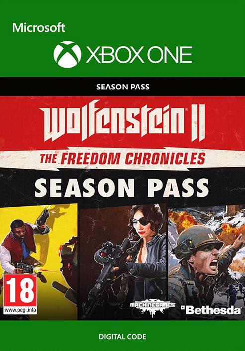 Wolfenstein 2: The Freedom Chronicles Season Pass Xbox One