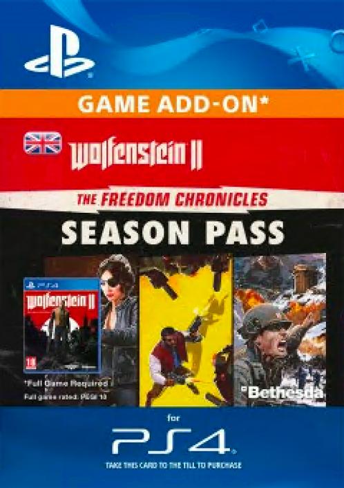 Wolfenstein II 2: The Freedom Chronicles Season Pass PS4