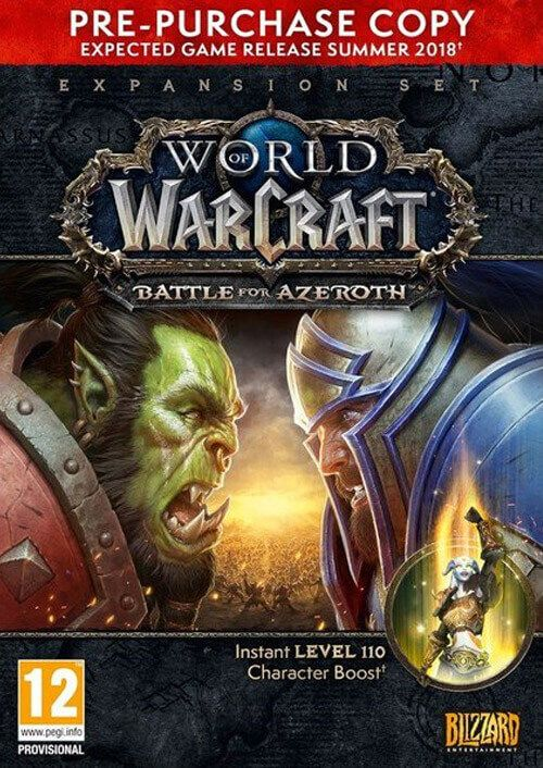 World of Warcraft (WoW) Battle for Azeroth Pre-Purchase PC (EU)