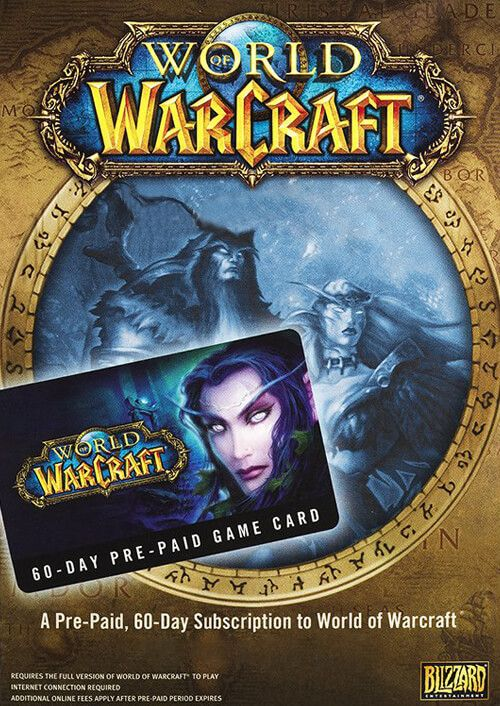World of Warcraft 60 Day Pre-paid Game Card PC/Mac (US)