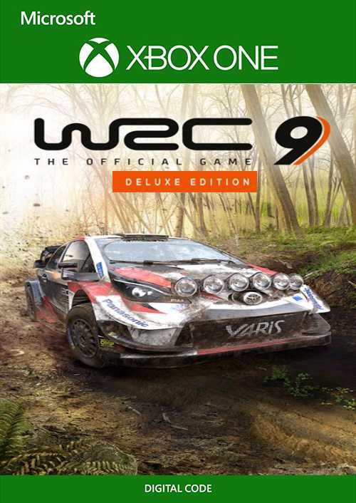 WRC 9 Deluxe Edition FIA World Rally Championship Xbox One (UK)