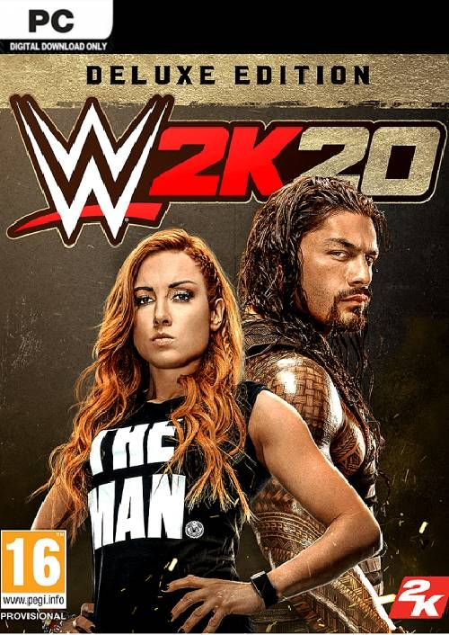 WWE 2K20 PC Deluxe Edition (EU)