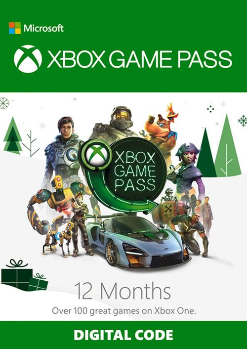 12 Month Xbox Game Pass Xbox One