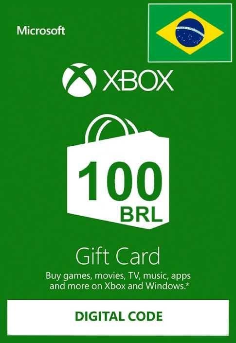 Xbox Live Gift Card - 100 BRL