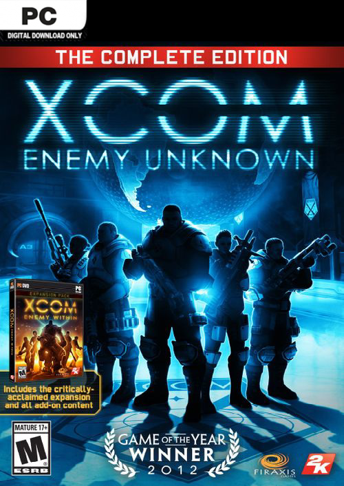XCOM Enemy Unknown Complete Edition PC (EU)
