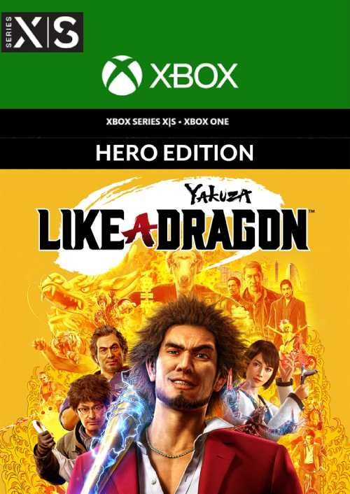 Yakuza: Like a Dragon Hero Edition  Xbox One/Xbox Series X|S (UK)
