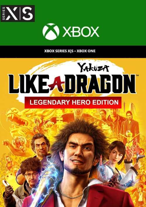 Yakuza: Like a Dragon Legendary Hero Edition  Xbox One/Xbox Series X|S (EU)