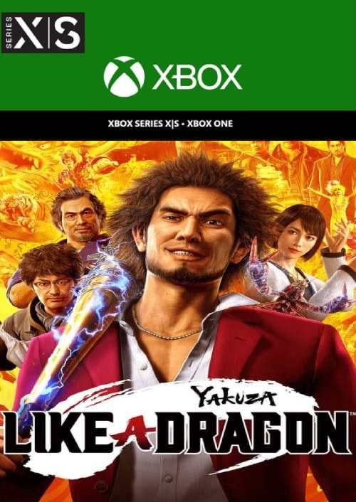 Yakuza: Like a Dragon  Xbox One/Xbox Series X|S  (UK)