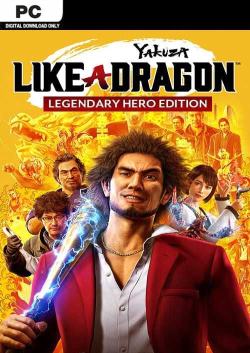 Yakuza: Like a Dragon Legendary Hero Edition PC (WW)