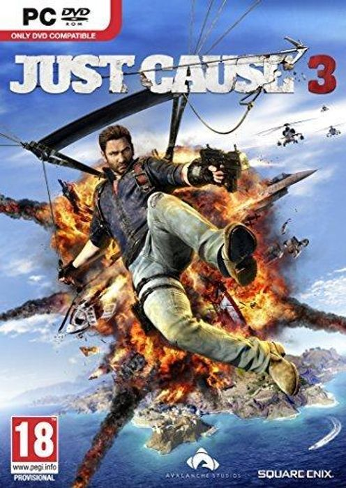 Just Cause 3 hoesje