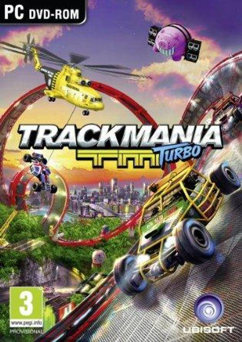 Trackmania Turbo hoesje