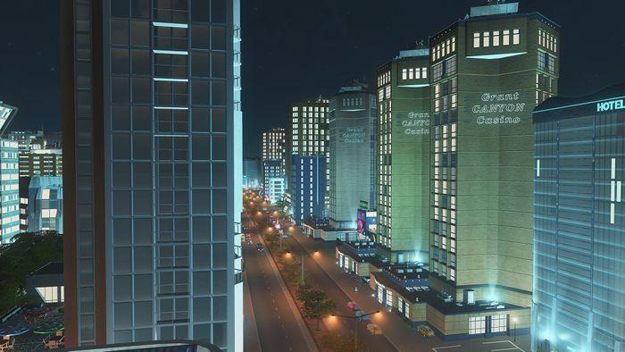Cities Skylines After Dark screenshot 1