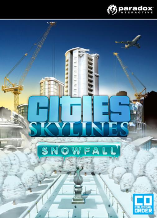 Cities Skylines Snowfall hoesje