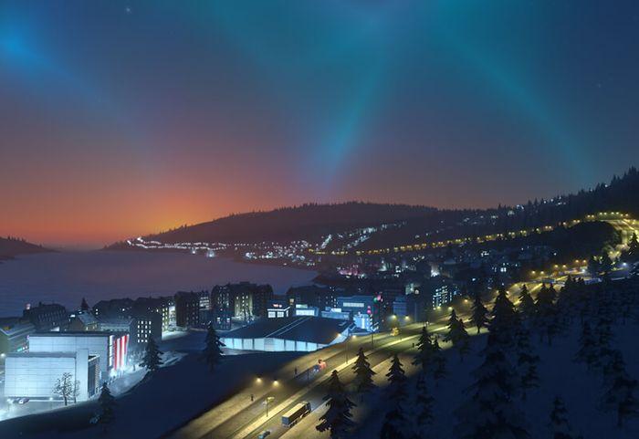 Cities Skylines Snowfall screenshot 0