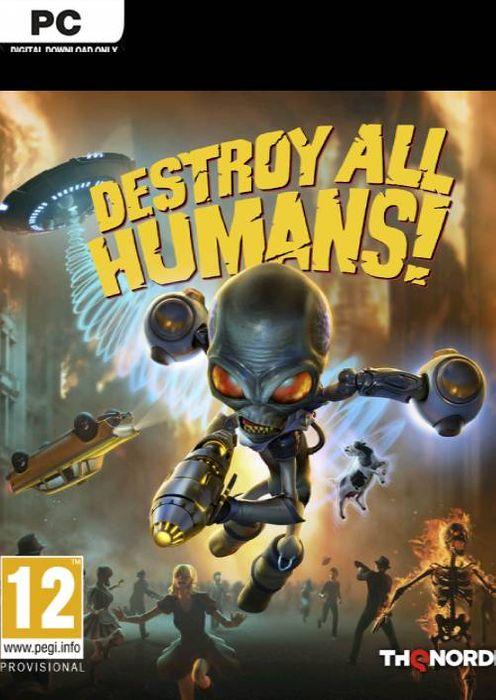 Destroy All Humans! hoesje