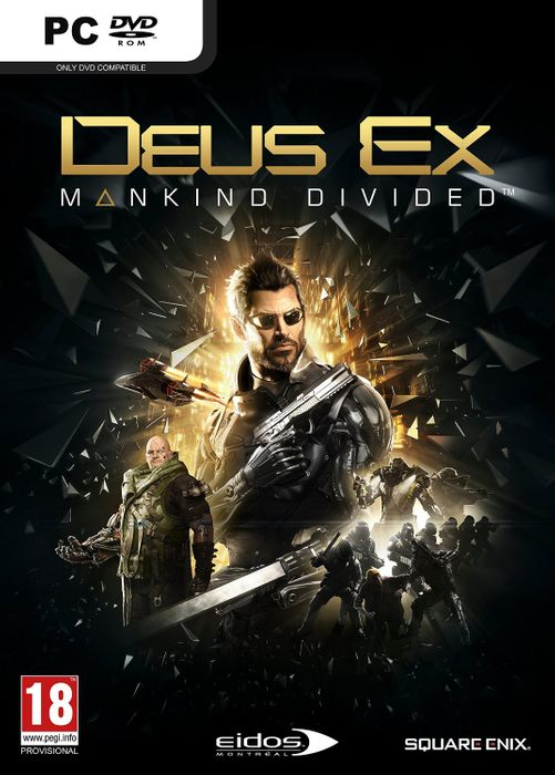 Deus Ex: Mankind Divided hoesje