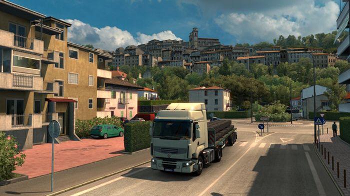Euro Truck Simulator 2: Italia screenshot 1