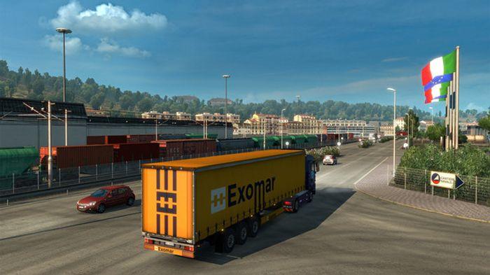 Euro Truck Simulator 2: Italia screenshot 0