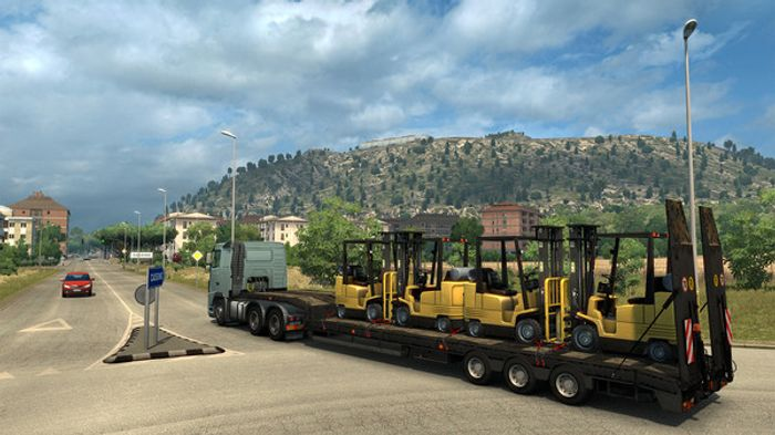 Euro Truck Simulator 2: Italia screenshot 3