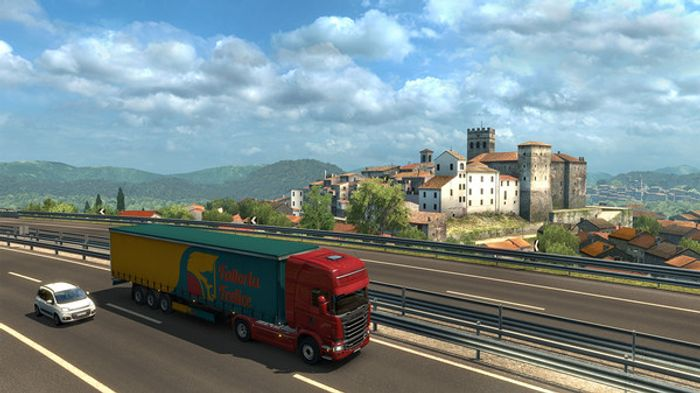 Euro Truck Simulator 2: Italia screenshot 5