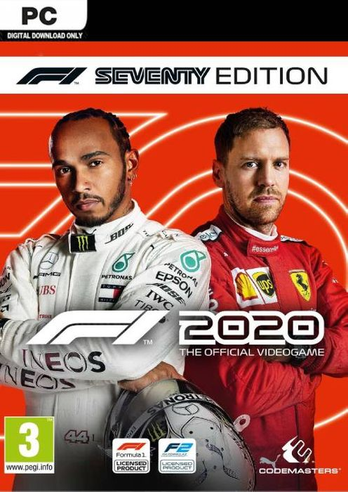 F1 2020 Seventy Edition hoesje