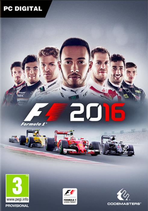 F1 2016 hoesje