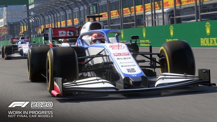 F1 2020 Seventy Edition screenshot 2