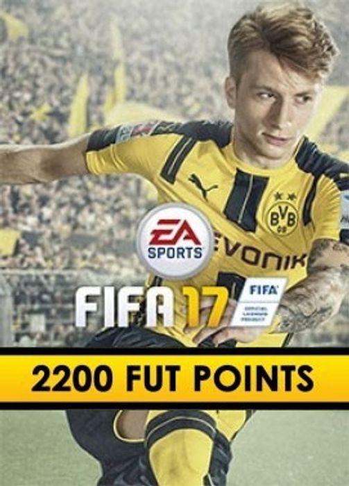 FIFA 17: 2200 FUT points hoesje