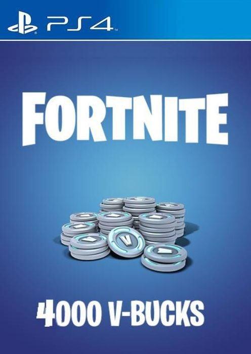 Fortnite 40 Dollar Vbucks Fortnite 4000 V Bucks Ps4 Us Ps4 Cdkeys