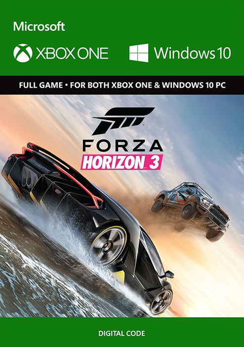 Forza Horizon 3 Xbox One/PC hoesje