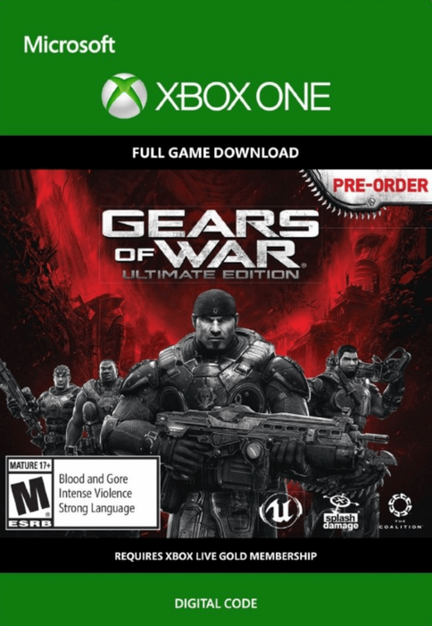 Gears of War Ultimate Edition for Xbox One [Digital Code]