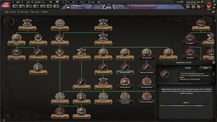 Hearts Of Iron IV Cadet Edition screenshot 1