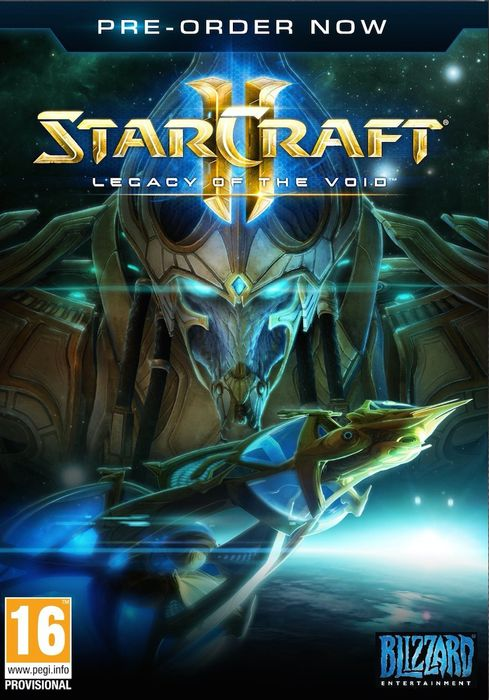 leg void cover - Starcraft II : Legacy of the Void (PC/Mac)