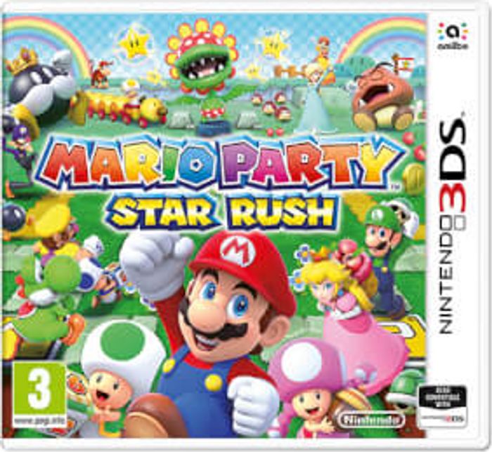 Mario Party Star Rush Game Code 3dsds Cdkeys