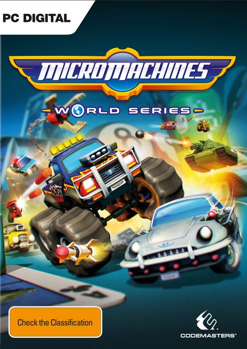 Micro Machines World Series hoesje