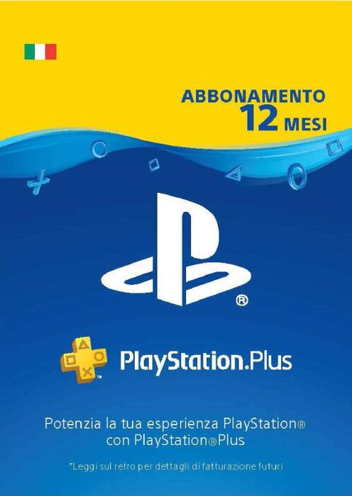PLAYSTATION PLUS (PS+) - 12 MESI