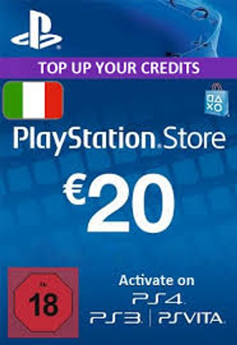 PLAYSTATION NETWORK (PSN) CARD - 20 EUR