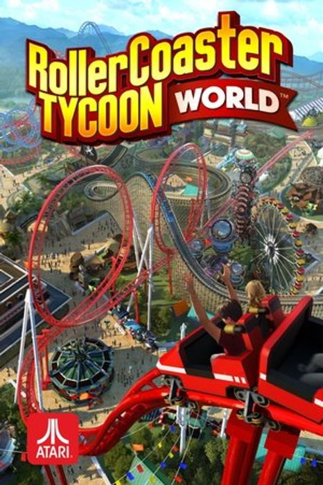RollerCoaster Tycoon World hoesje