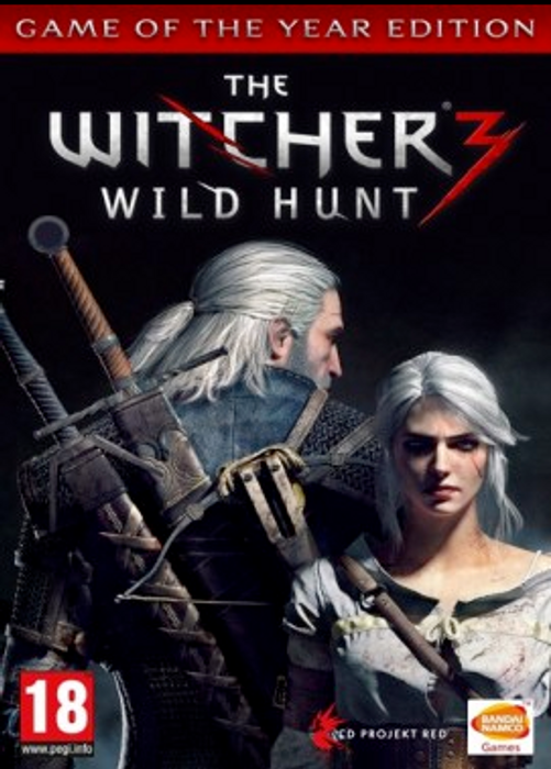 The Witcher 3 Wild Hunt hoesje