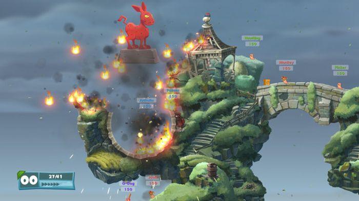 Worms: Weapons of Mass Destruction screenshot 0