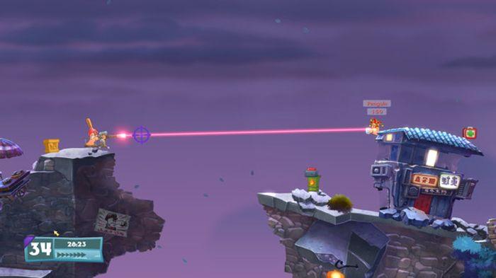 Worms: Weapons of Mass Destruction screenshot 2