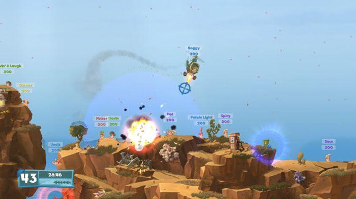 Worms: Weapons of Mass Destruction screenshot 3