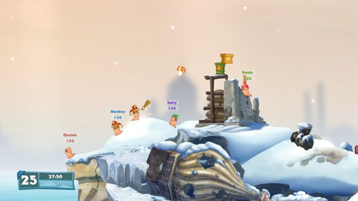 Worms: Weapons of Mass Destruction screenshot 4