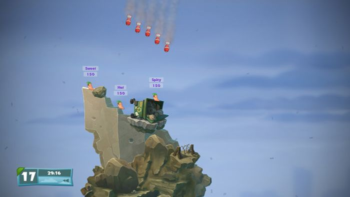 Worms: Weapons of Mass Destruction screenshot 1