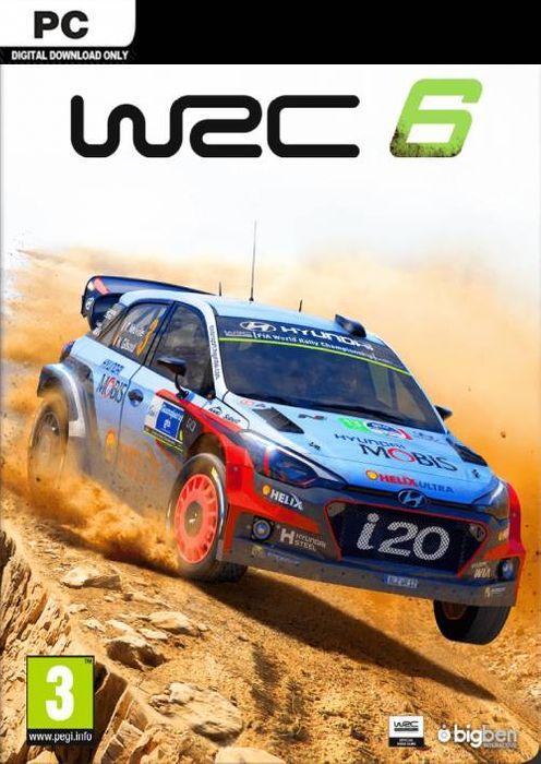 WRC 6: World Rally Championship hoesje