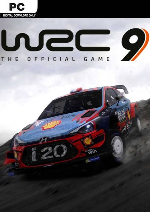 WRC 9 - The Official Game hoesje