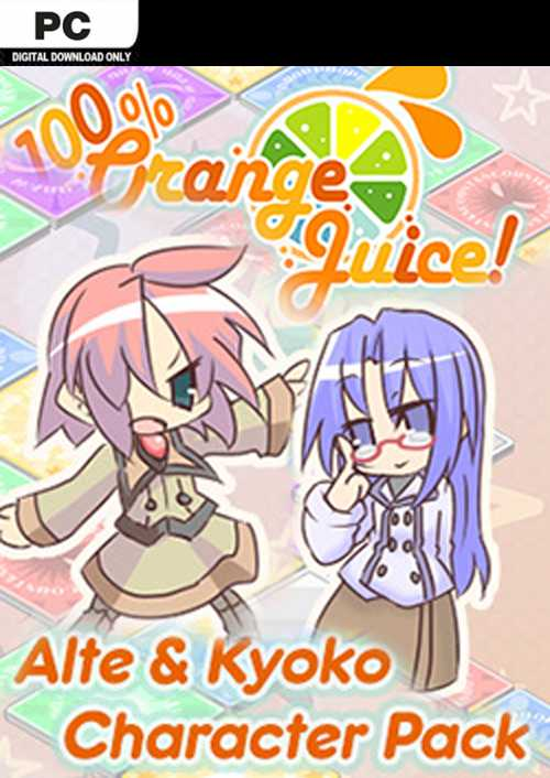 100% Orange Juice  Alte & Kyoko Character Pack PC key